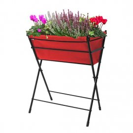 VegTrug™ Poppy Go! Planter (Red)