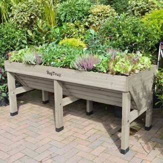 VegTrug™ Medium Patio Planter (Grey Wash)