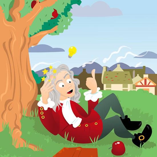 Ciência e Pseudociência Apple-Isaac-Newton-Fruit_01