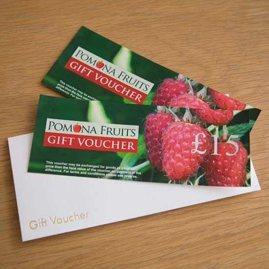 Pomona Fruits £15 Gift Voucher