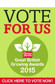 Great British Growing Awards - Vote For Us