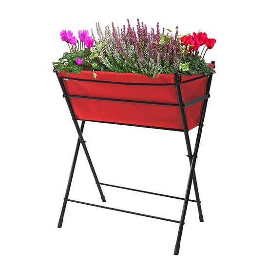 VegTrug™ Poppy Go! Planter (Red) - Click Image to Close