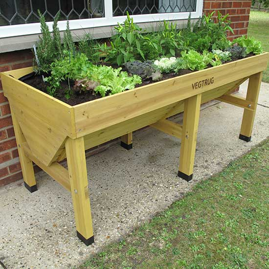 Raised Patio Planter: VegTrug™ Medium Patio Planter VegTrug™ Medium Raised Patio
